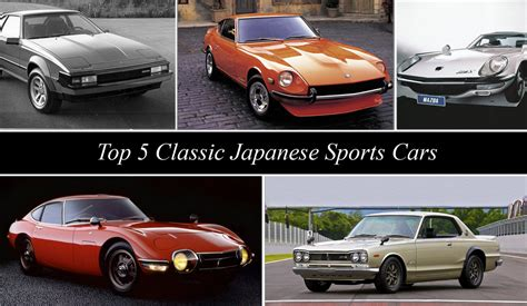 japanese sports cars topspeed 39 s top 5 classic japanese sports cars news top speed