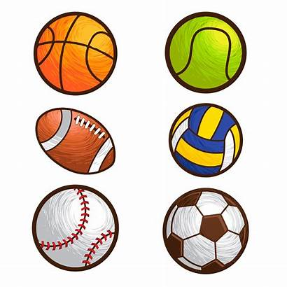 Ball Vector Sport Illustration Vecteezy Clipart Graphics