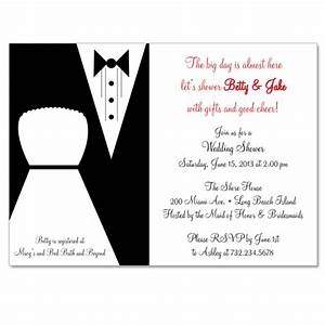 Bride and groom custom bridal shower invitation on luulla for Wedding shower for bride and groom