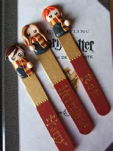 i kawaii bookmarks harry potter
