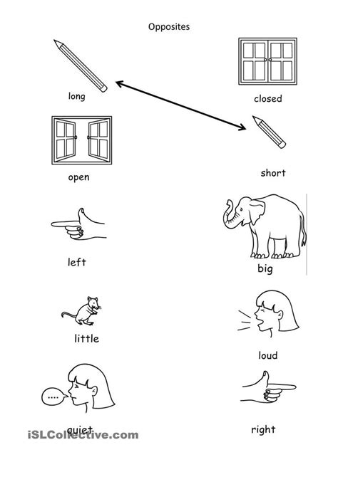 image result for opposites activities preschool le