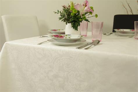 Tischdecke Abwaschbar Hochwertig by Wei 223 E Tischdecken Markenqualit 228 T Tideko 174