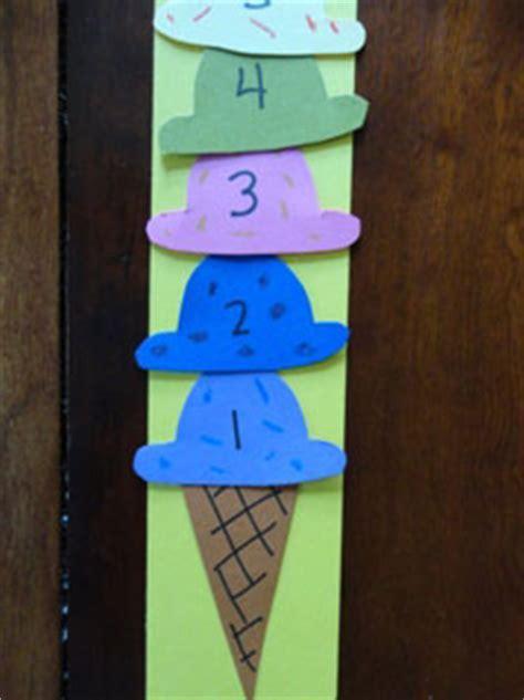 ice cream cone numbers craft  kids network