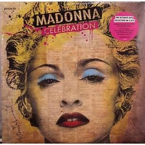Celebration 4 Lp By Madonna LP X 4 With Cenotex Ref117900157