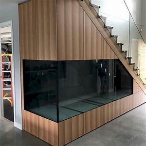 46 Aquarium Stairs Design Ideas