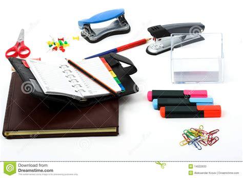 bureau papeterie papeterie de bureau photos stock image 14022633