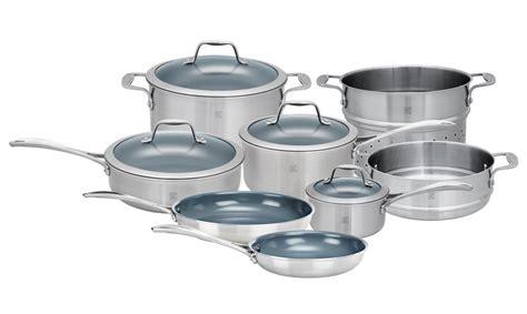 cookware ceramic zwilling henckels steel stainless spirit nonstick piece thermolon cutleryandmore sets cutlery ja
