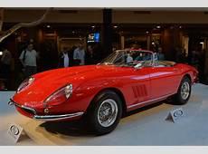 1967 Ferrari 275 GTB4 NART Spider Monterey 2013 Photo