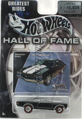hot wheels hall  fame greatest rides