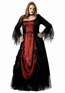 Halloween Kostüm Vampir : women 39 s plus size vampire costume ~ Lizthompson.info Haus und Dekorationen