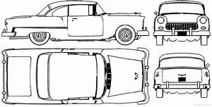 1955 chevy bel air blueprints sketch coloring page cake With 1955 chevy bel air