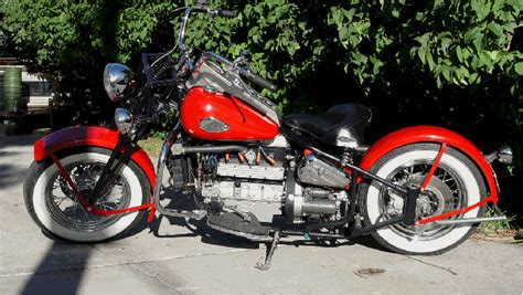 John's Crosley powered motorcycle