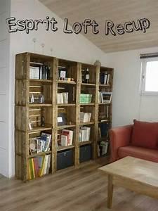 Caisse De Pomme : bibliotheques caisse a pomme par esprit loft recup homify ~ Teatrodelosmanantiales.com Idées de Décoration