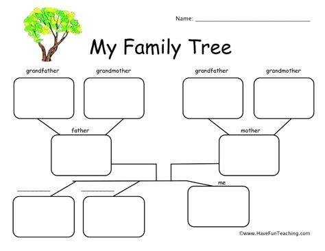 esl  family tree worksheet google search  images