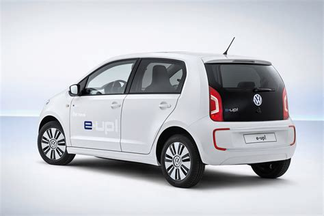 vw e up frankfurt auto show the volkswagen e up and e golf make their debuts