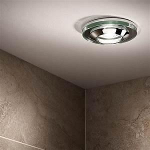 Acorn Glass Shower Light