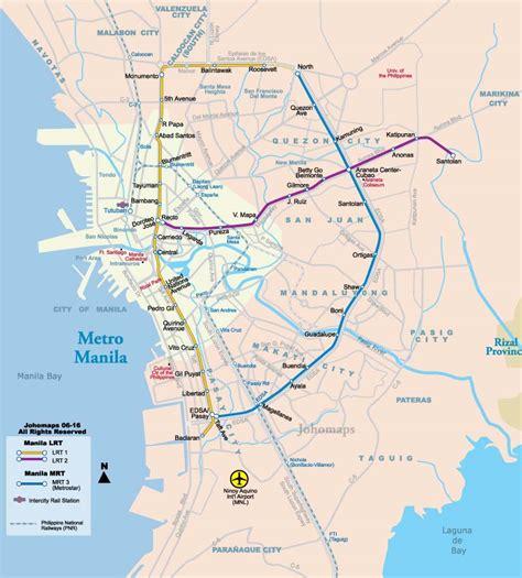 maps map manila