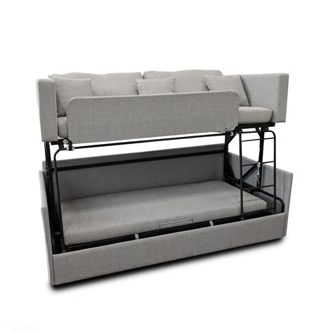 bunk bed settee the dormire bunk bed transformer expand