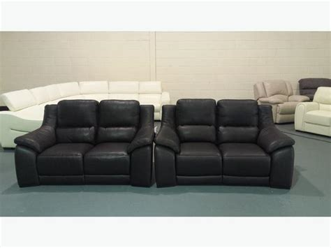 Polo Divani by Polo Divani Degano Brown Leather Electric Recliner Pair
