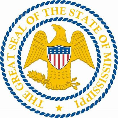 Mississippi State Seal Symbols Tree Territory Center