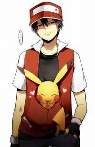 pokemon trainer red wallpaper