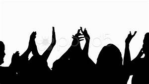 Cheering Audience Clapping Hands Clipart - Clipart Suggest