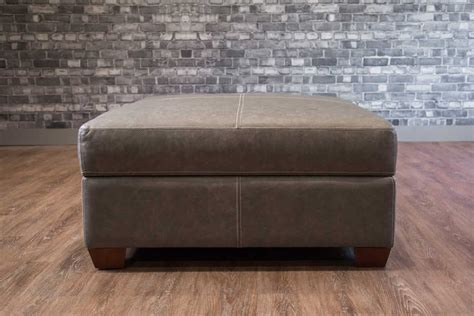 square storage ottoman large square storage ottoman leather sofa canada