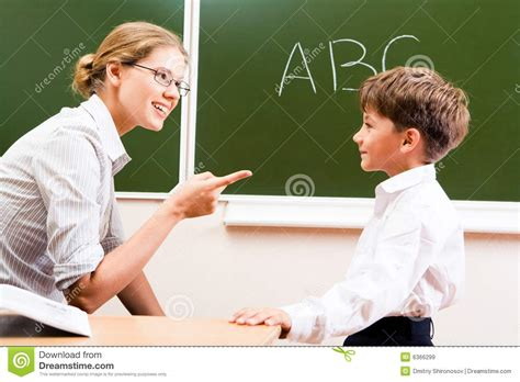 Explaining Rules Stock Image Image Of Learn, Classroom 6366299