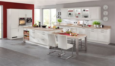 Classiceinbauküche Estrala Weiss  Küchen Quelle