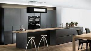 Küche Schwarz Matt : schwarze kuche matt die neuesten innenarchitekturideen ~ Markanthonyermac.com Haus und Dekorationen