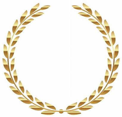 Wreath Laurel Clipart Olive Branch Transparent Circle