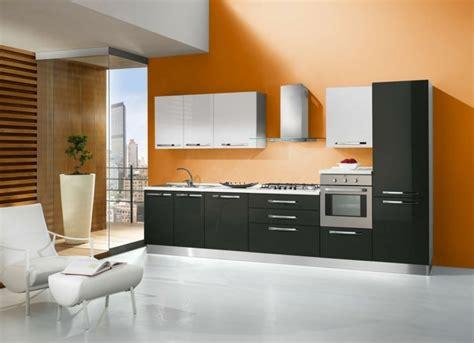 couleur mur de cuisine cuisine orange 50 idées d 39 aménagement stimulantes