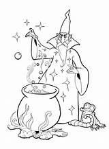 Merlin Coloring Magician Pages Bbc Printable Stuff Getcolorings Popular sketch template