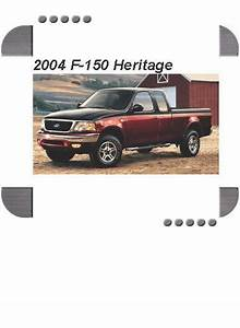 2004 Ford F 15truck Heritage Electrical Wiring Diagrams Service Shop Manual