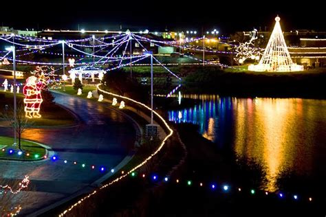 wichita area events heartspring s quot lights on the lake quot