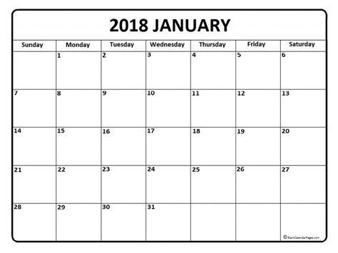 calendar template january 2018 january 2018 calendar 51 calendar templates of 2018 calendars