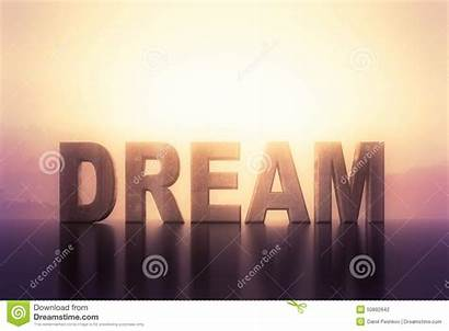 Dream Text Background Abstract