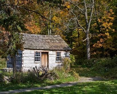 Cabin Rustic Log Cabins Grid Living Tiny