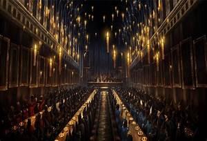 Bougie Harry Potter : 7x5ft hogwarts dining hall candles church custom photo studio backdrop background banner vinyl ~ Melissatoandfro.com Idées de Décoration