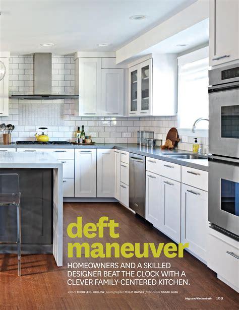 kitchen and bath ideas magazine kitchen bath ideas summer 2014 fiorella design