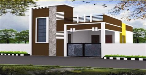 individual house front elevation pictures