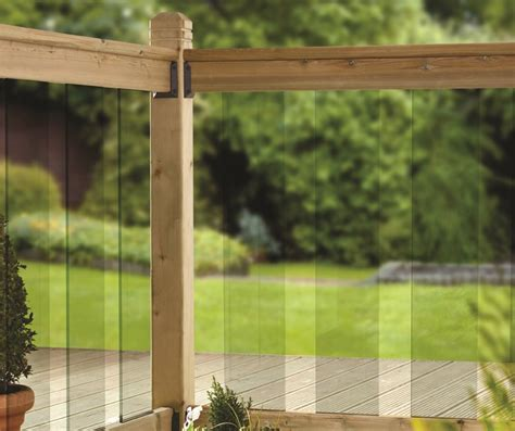 clearview deck glass panels xxmm toughened