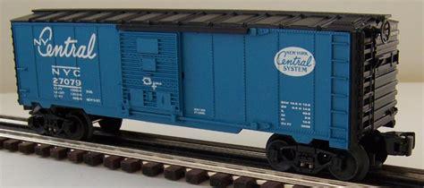 Lionel 6-27079 Nyc Single Door Boxcar With Unusual Blue