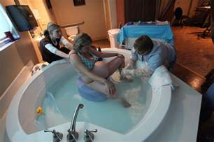 Water Birth In Bathtub by Using The Kaya Birth Stool In The Tub Labor And