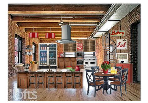 Old Warehouse Kitchen By Cswalsh1961  Olioboard