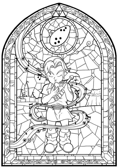 legend  zelda coloring pages images  pinterest