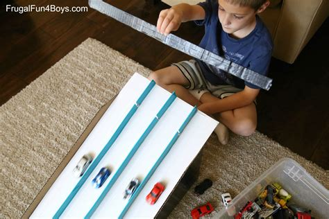what to cook cing how to make a cardboard box race track for hot wheels cars