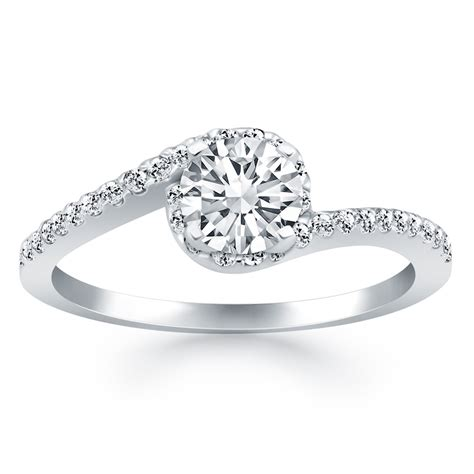 wrap around rings wedding promise