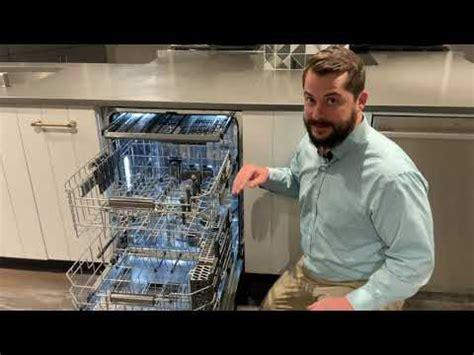 monogram fully integrated dishwasher zdtsinii youtube