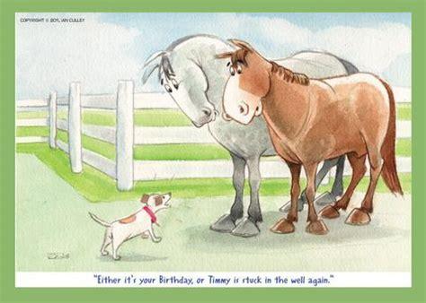 card happy birthday dog happyhorse cartoons give